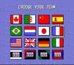 hypervball-equipes