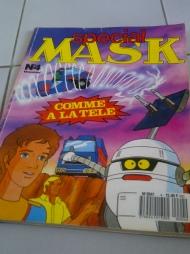 petit bonus, la BD MASK et ses jeux