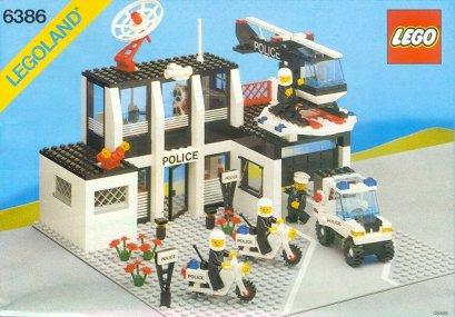 LEGO hôtel de police