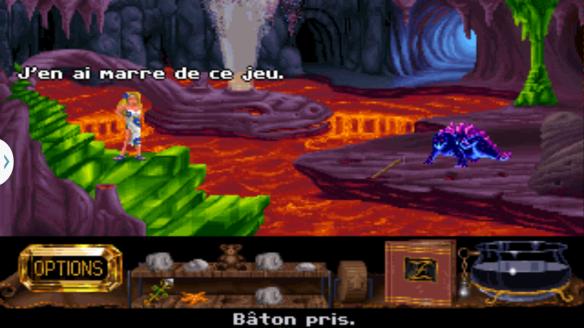 Bien avant Metal Gear Zanthia brisait le 4ème mur :p