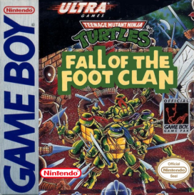 Teenage Mutant Ninja Turtles - Fall of the Foot Clan_Cover