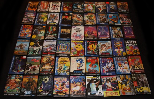 my_mega_drive_genesis_game_collection