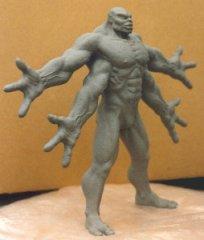 mortal-kombat-1-goro-stop-motion-clay-sculpture-front