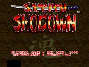 Samurai Shodown1
