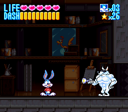 SNES--Tiny Toon Adventures Buster Busts Loose_May25 7_58_31