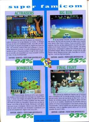 Joystick HS n°3 - Juillet Août 1991 - Page 064