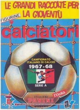 Album Panini 1967-68 Championnat d'Italie
